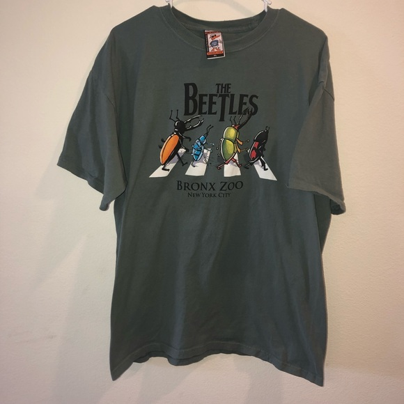 af51a55c69296 duck co Other - The Beatles Bronx Zoo Beetles Parody t shirt